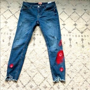 Regular skinny jeans by Only
